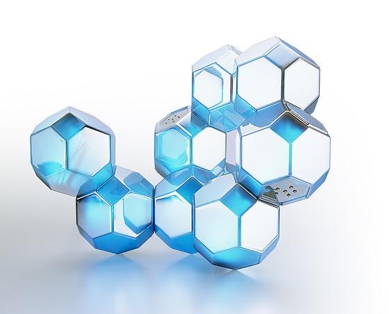 QisDesign Crystal Light Lamp