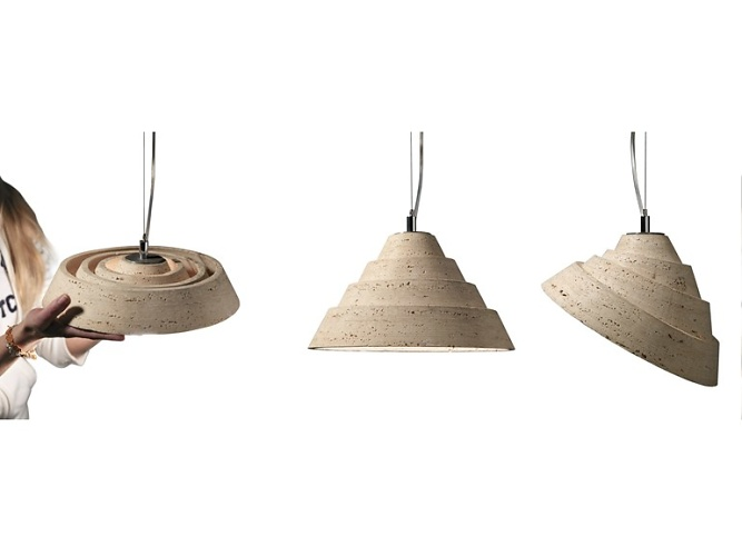 Raffaello Galiotto Spiralitosa Lamp