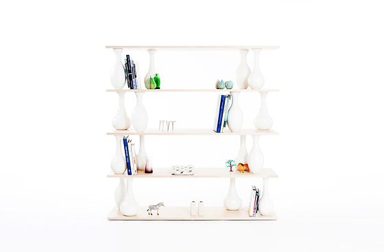 Ran Amitai, Gilli Kuchik and Bakery Design Amitai & Vase Shelves