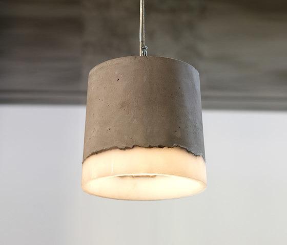 Renate Vos Concrete Lamp