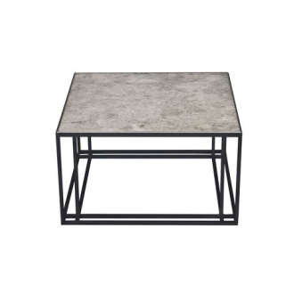 Richy Almond, Dean Almond and Mark McCormick Silver Binate Coffee Table