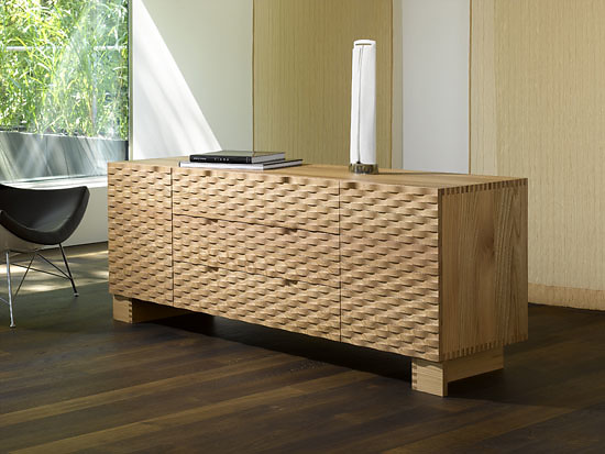 Robert Haussmann and Trix Haussmann-Högl Credenza Allta and Bassa