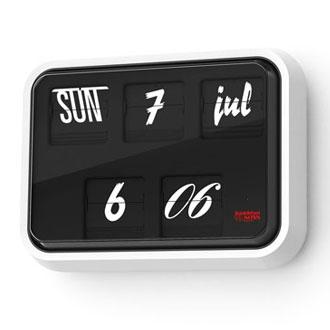 Sebastian Wrong Font Clock