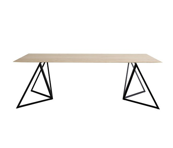 Sebastian Scherer Steel Stand Table