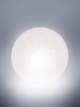 Serralunga Crystal Moon Lamp Collection