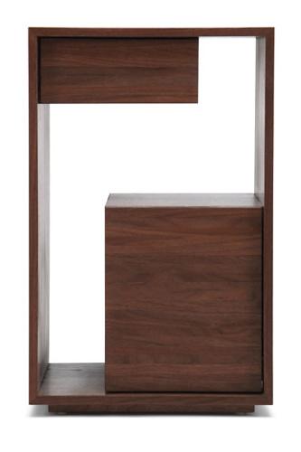 Skram Lineground 2-drawer Side Table-Nightstand