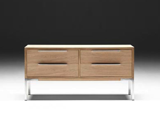 Søren Nissen and Ebbe Gehl AK 1130-1190 Skyline Chest of Drawers