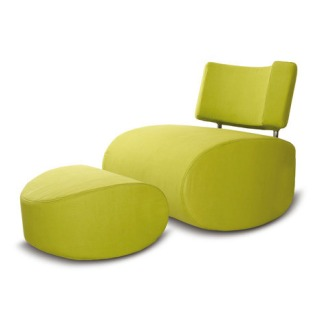 Stine Engelbrechtsen Apollo Chair With Pouf