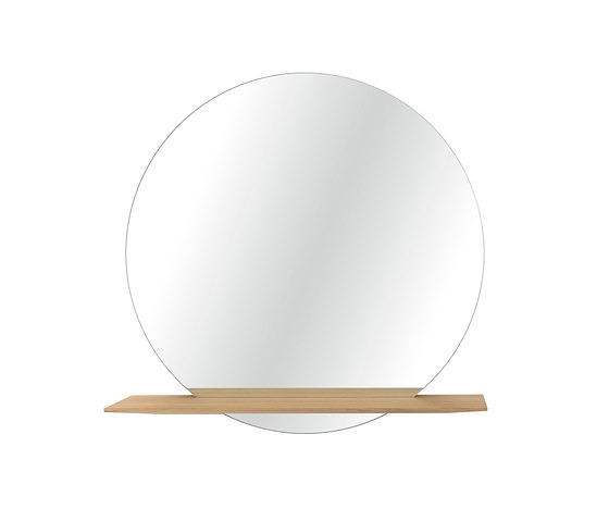 Studio Taschide Cut Mirror With Shelf