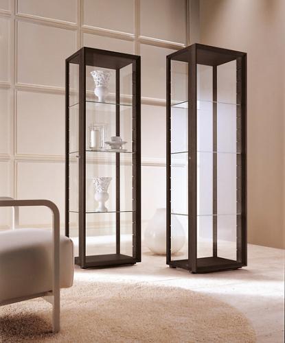 T. Colzani Chiara Glass Cabinet