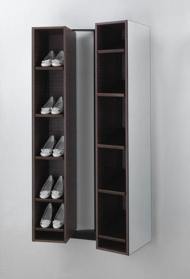 T Colzani Girilla Shoe Rack Amp Mirror