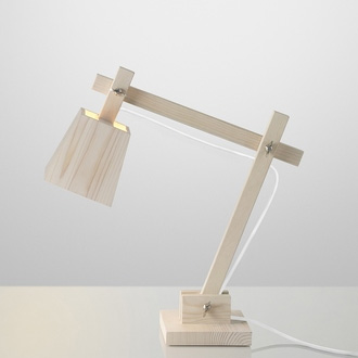 Taf Architects Wood Lamp