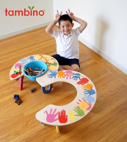 Tambino Oversized 3 Table In Oaxaca Handprints