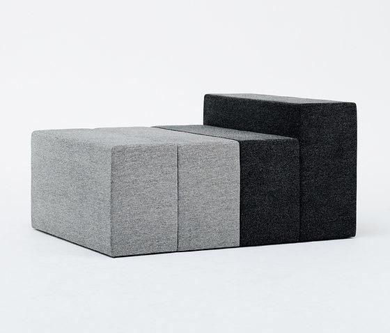 Teruhiro Yanagihara Halfway Modular Sofa
