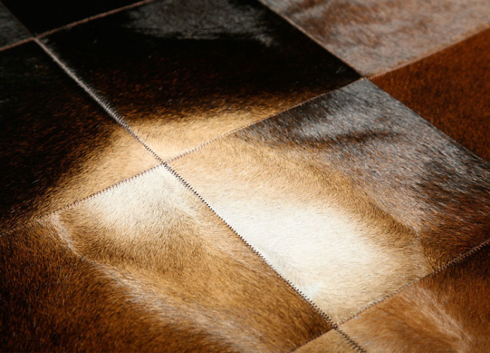 The Pure Team Park Normand Cowhide Rug
