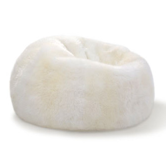 The Pure Team Sheepskin Bean Bags