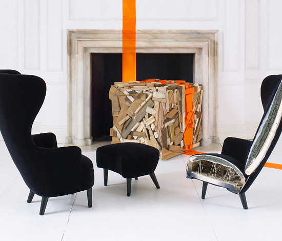 Tom Dixon Wingback Seating Collection