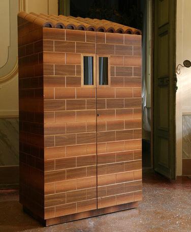 Ugo La Pietra Superfettazione Computer Cabinet