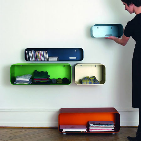 Valérie Jomini and Stanislas Zimmermann Itbox Furniture System