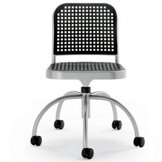 Vico Magistretti Silver Chair