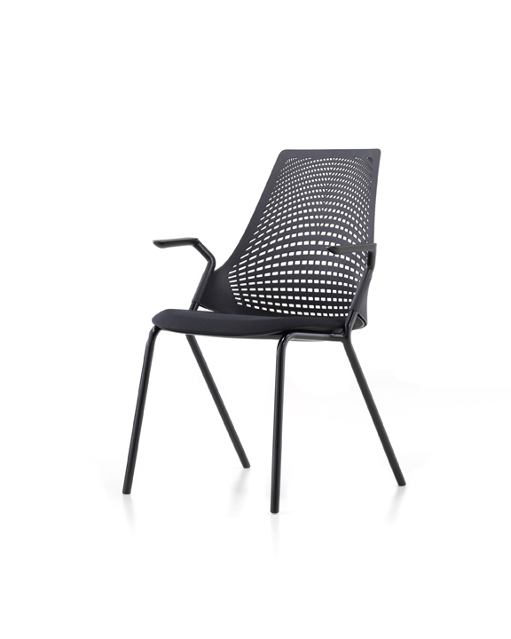 Yves B 233 Har Sayl Side Chairs
