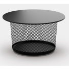 Andr&eacute; Klauser and Ed Carpenter Mesh Table