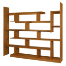Brave Space Design Bamboo Stagger Shelving