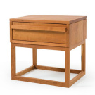 De La Espada Atlantico Bedside Table