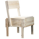 Enzo Mari Sedia 1 Chair