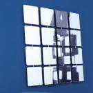 Giovanni Tommaso Garattoni Bungalows Round Square Mirror