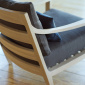 Matthew Hilton Low Lounge Chair