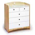 Roberto Gil Bebe 2 Dresser With 5 Drawers